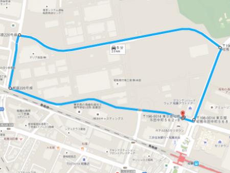 ハーレーダビッドソン昭和の森 試乗コース
