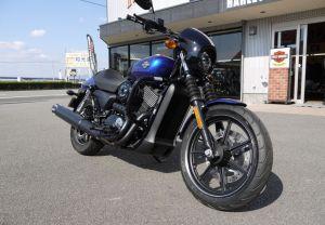 H-D徳島オリジナルカスタム試乗車(2016ストリート750)