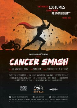 Superheroes & Villains Cancer Smash!