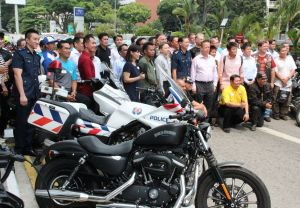TRAFFIC POLICE RIDE SAFE DIALOGUE SESSION