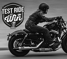 TEST RIDE and WIN !