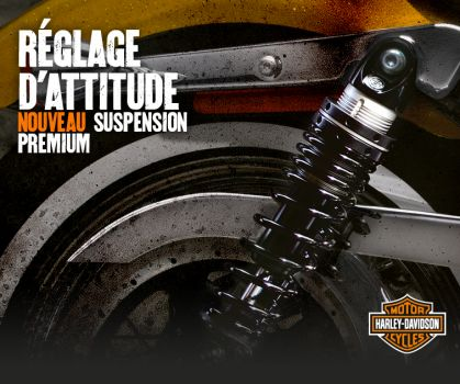 PREMIUM RIDE EMULSION SHOCKS - SPORTSTER® MODELS*