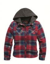 Large Scale Plaid Shirt Jacket