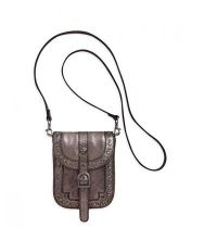 3-in-1 Studded Metallic Belt Bag