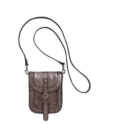 3-in-1 Studded Metallic Belt Bag