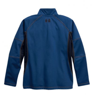 WATER-RESISTANT FLEECE PULLOVER