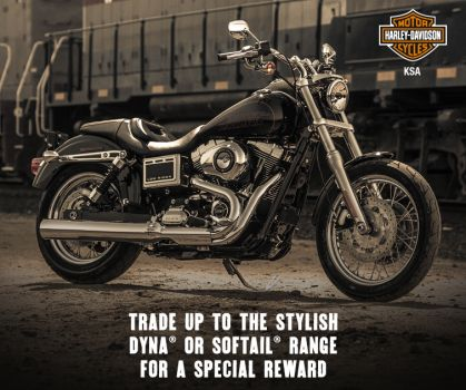 ​YOUR HARLEY® MEANS A GREAT DEAL.