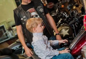 Рождество с Harley-Davidson Новосибирск