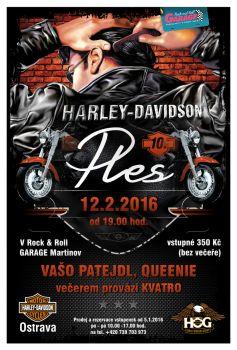 Ples 2016 Harley-Davidson-Ostrava & HOG Ostrava