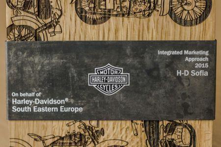 Harley-Davidson ® София с награда за най-успешен маркетинг през 2015