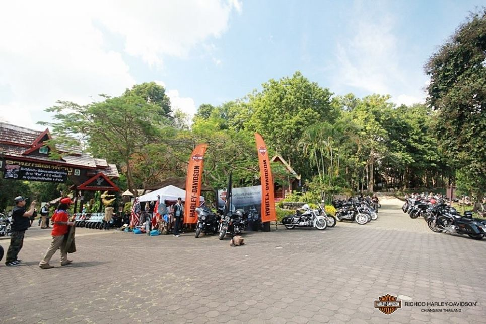 Charity Ride for Elephant @ Lampang