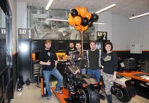 12.01.2016 - Harley-Davidson® Уфа продан первый мотоцикл!