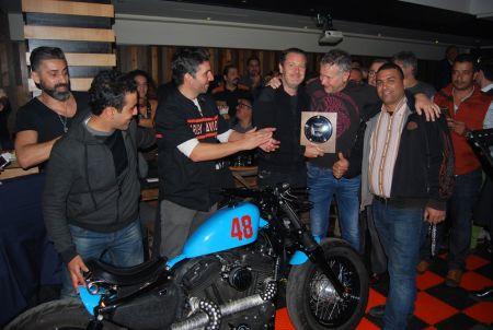 Harley-Davidson®de Casablanca 2015 fête la fin d'année