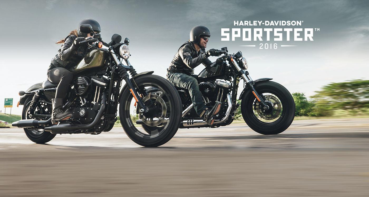 Sportster™ - รถมอเตอร์ไซค์ปี 2016