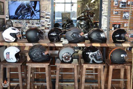Большое поступление шлемов Harley-Davidson