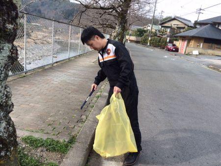 USALEO地域清掃やってます!!