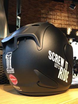 新TEST RIDE専用ヘルメット ご用意しました