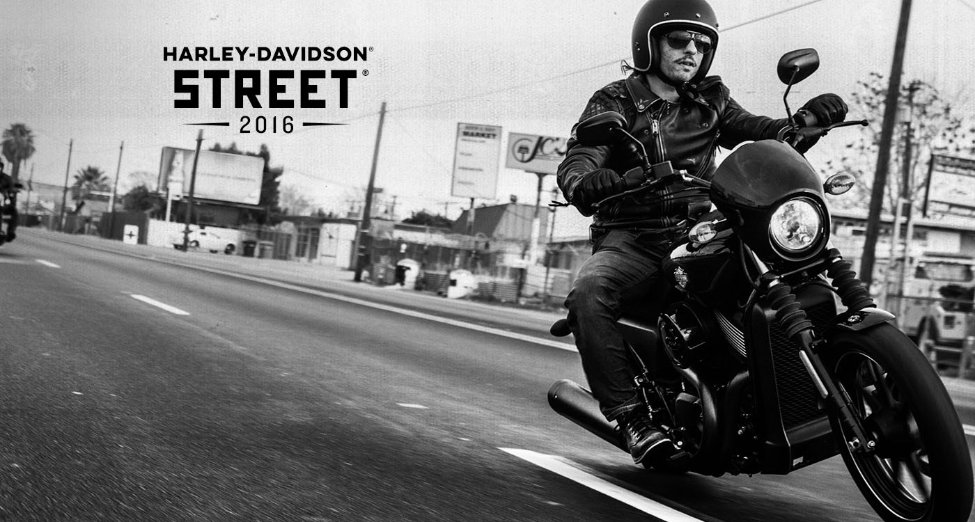 Harley-Davidson Street<sup>®</sip> - 2016 Motorcycles
