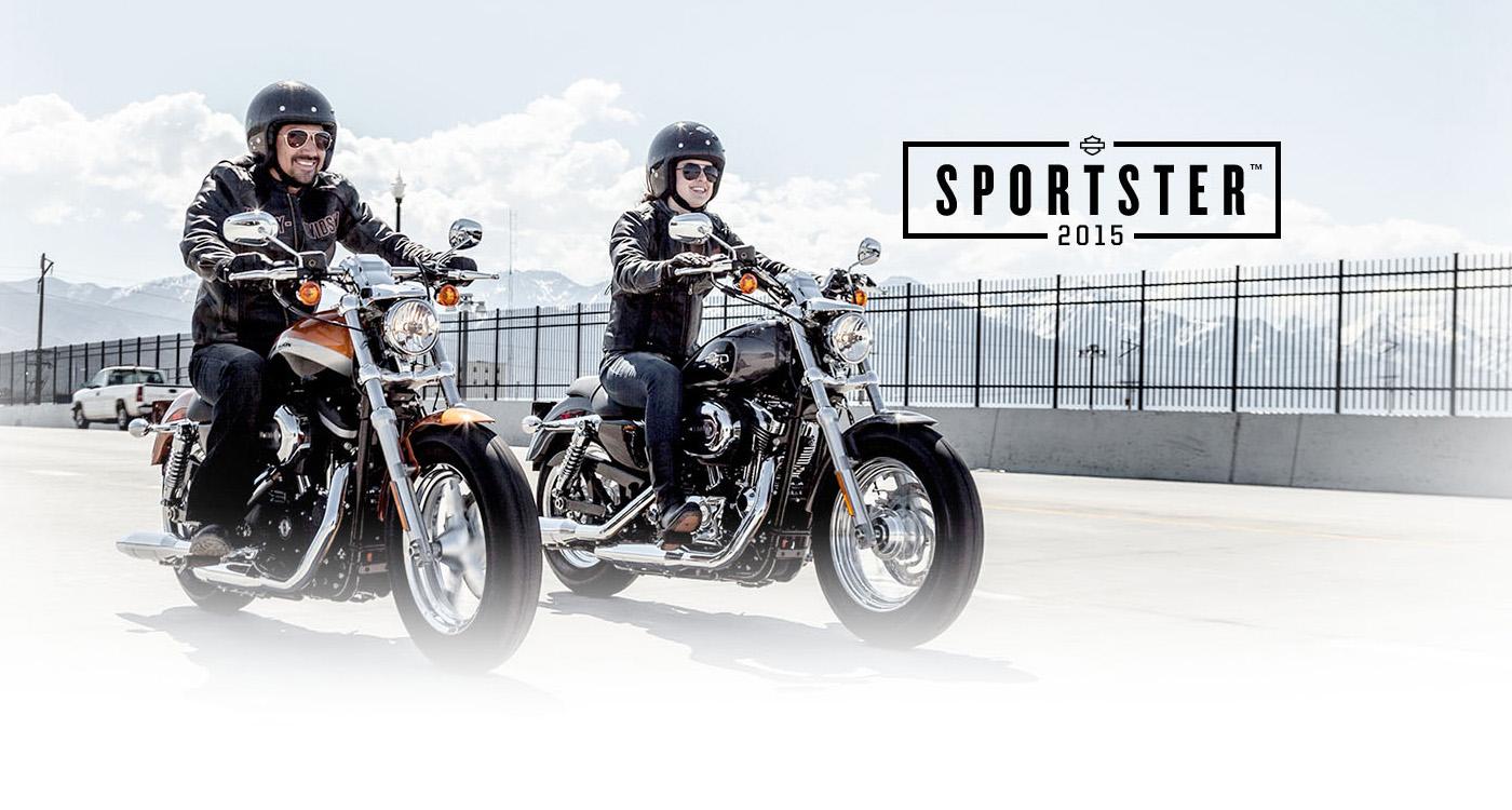 Sportster<sup>™</sup> - รถมอเตอร์ไซค์ปี 2015