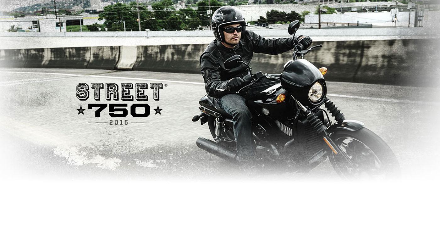 Harley-Davidson Street<sup>®</sup> - 2015年モデル