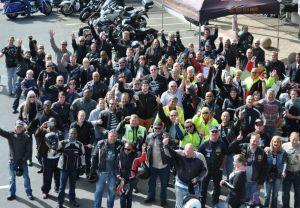 Bikers Ride for Road Safety!