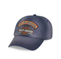 Harley-Davidson® Mens Washed Trademark B&S Logo