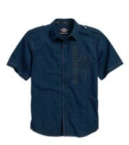 Wrinkle-Resistant Textured Shirt