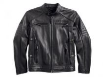 Men's Triple Vent System Beginnings Leather Jacket