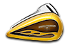 Road Glide® - Hard Candy Gold Flake