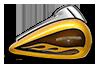 Street Glide® - Hard Candy Gold Flake