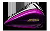 Electra Glide®  Ultra Classic®  Low  - Custom Color Purple Fire / Blackberry Smoke