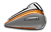 Electra Glide®  Ultra Classic®  Low  - Two-Tone Amber Whiskey / Charcoal Pearl