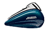 Electra Glide®  Ultra Classic®  Low  - Custom Color Cosmic Blue Pearl