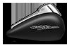 Street Glide® - Black Denim