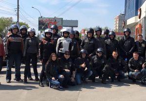 Открытие мотосезона 2016 в Новосибирске