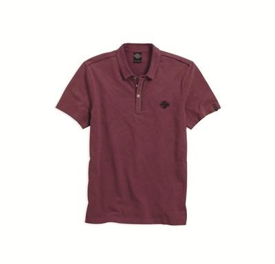 赤 ポロシャツ