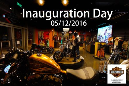H-D of Manila- BGC Inauguration Day 05/12/2016
