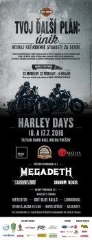 Poznáme kompletný program Harley Days v Prešove!