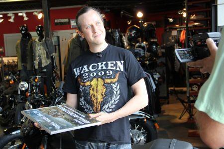 """Ir noteikts Harley-Davidson projekta """"Discover More"""" 2016. gada uzvarētājs - Mihails Roždestvenskis no Latvijas!"""