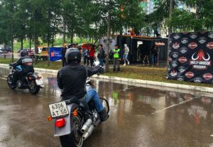 Harley Tour в Красноярске.