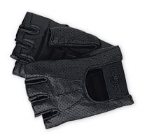 Perforated Fingerless Gloves Men
