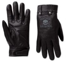 SKULL FULL FINGEL LEATHER WOMEN