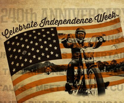 アメリカ独立記念パーテーィー開催
