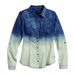 Indigo Dip-Dye Shirt