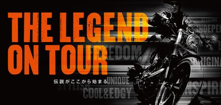 THE LEGEND ON TOUR in 針テラス