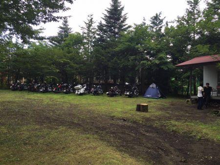 """練馬チャプター7月""""山中湖キャンプツーリング"""""""