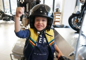Aidan visits Harley-Davidson® Cape Town