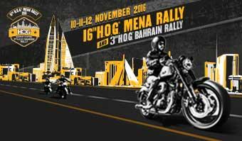 16TH H.O.G.® MENA RALLY 2016