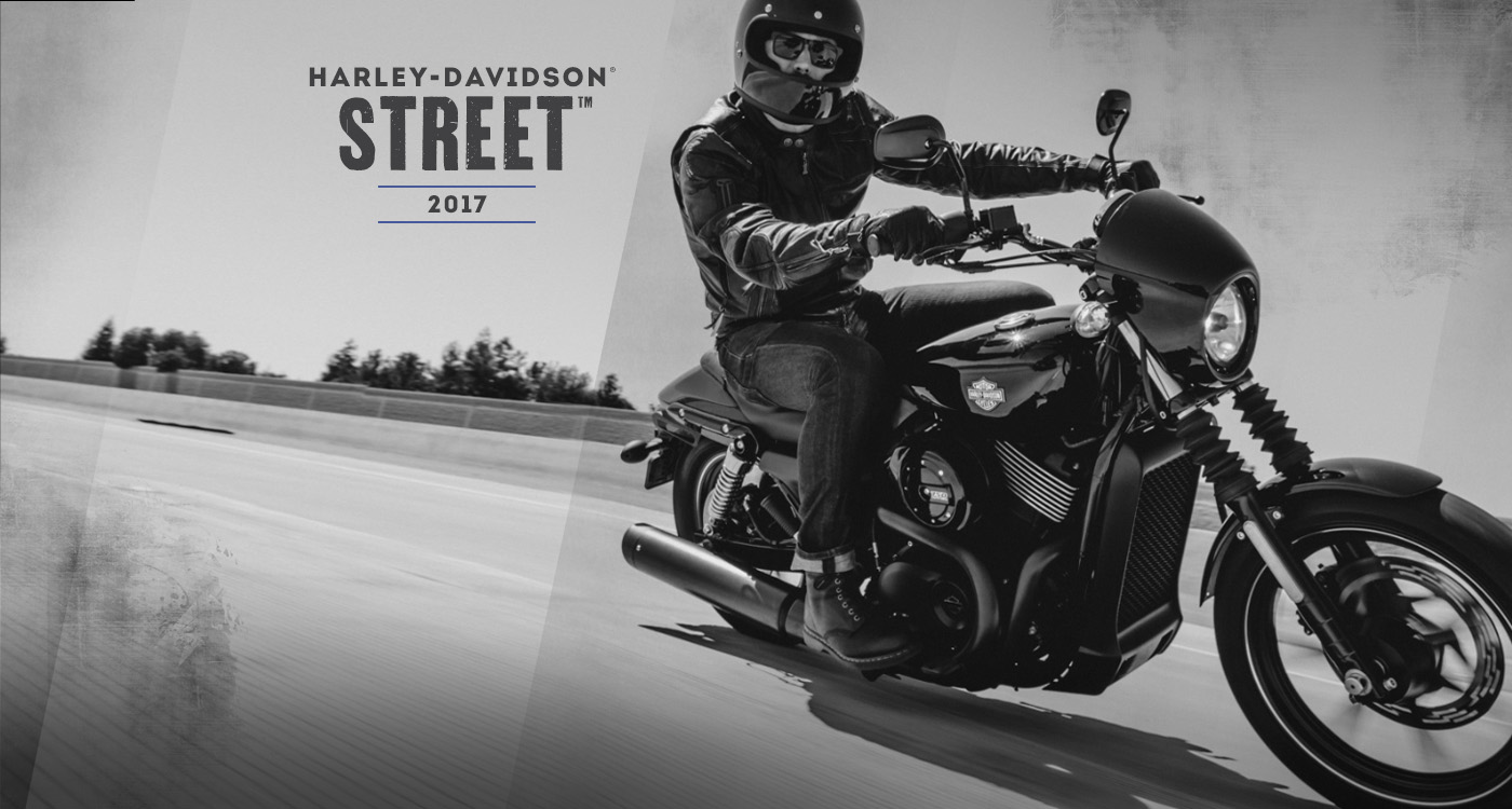 Street - รถมอเตอร์ไซค์ปี 2017