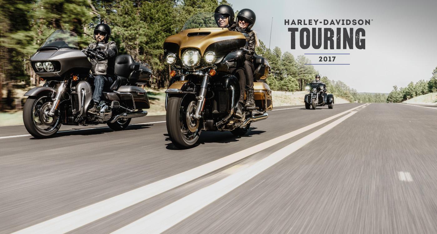 Touring - 2017 Moottoripyörät